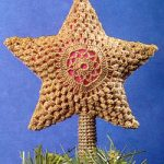 Star Crochet Tree Topper Pattern