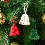 Free Christmas Bell Ornament Crochet Pattern