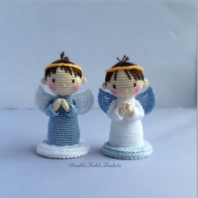 Angels Boys and girls Free Crochet Pattern