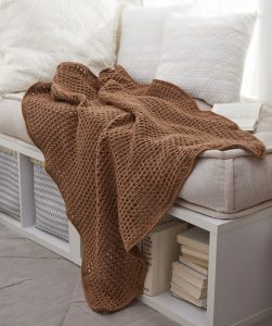Archways Throw Free Crochet Pattern