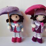Autumn Girls Free Crochet Doll Pattern