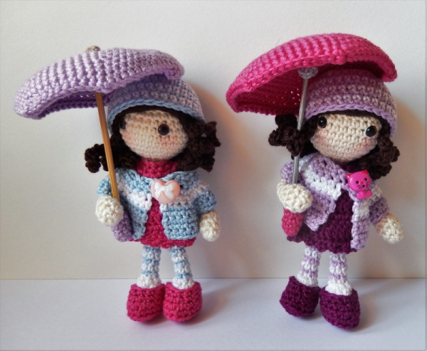 Autumn Girls Free Crochet Doll Pattern