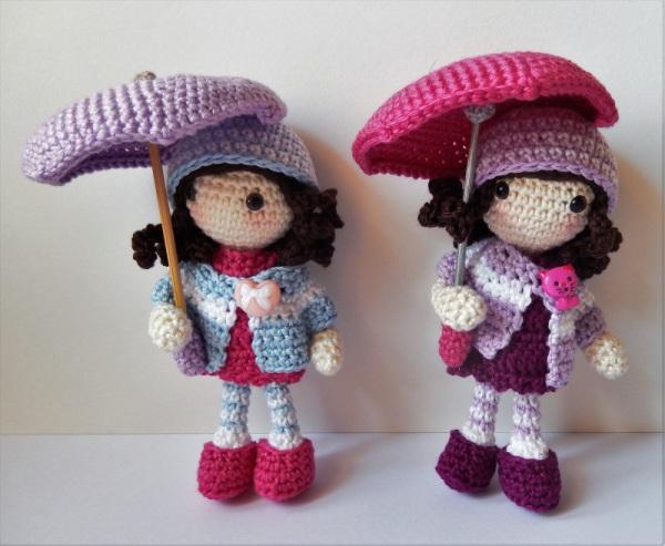 15+ Free Crocheted Doll Patterns • Free Crochet Tutorials | 493x600