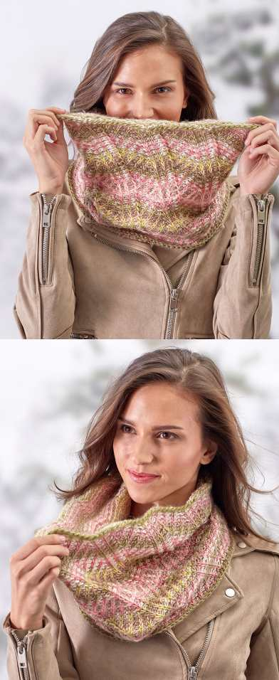 Breathtaking Brioche Cowl Free Crochet Pattern