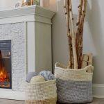 Charming Color-Block Baskets Free Crochet Pattern