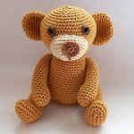 Crochet Teddy Free Pattern