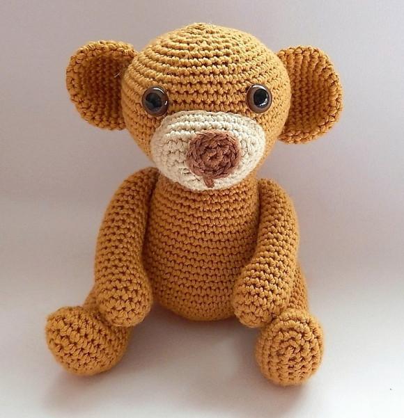 Crochet Teddy Free Pattern