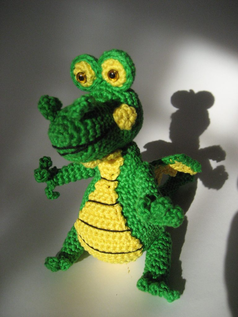Dragon Lutz Free Amigurumi Crochet Pattern