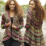 Fall Festival Free Crochet Jacket Pattern