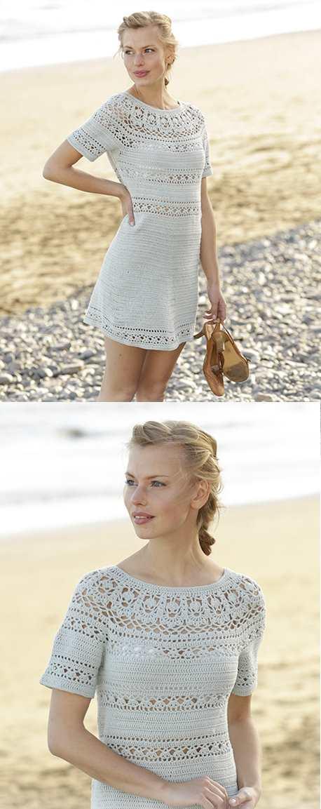 Grace in Lace Crochet Dress Pattern Free