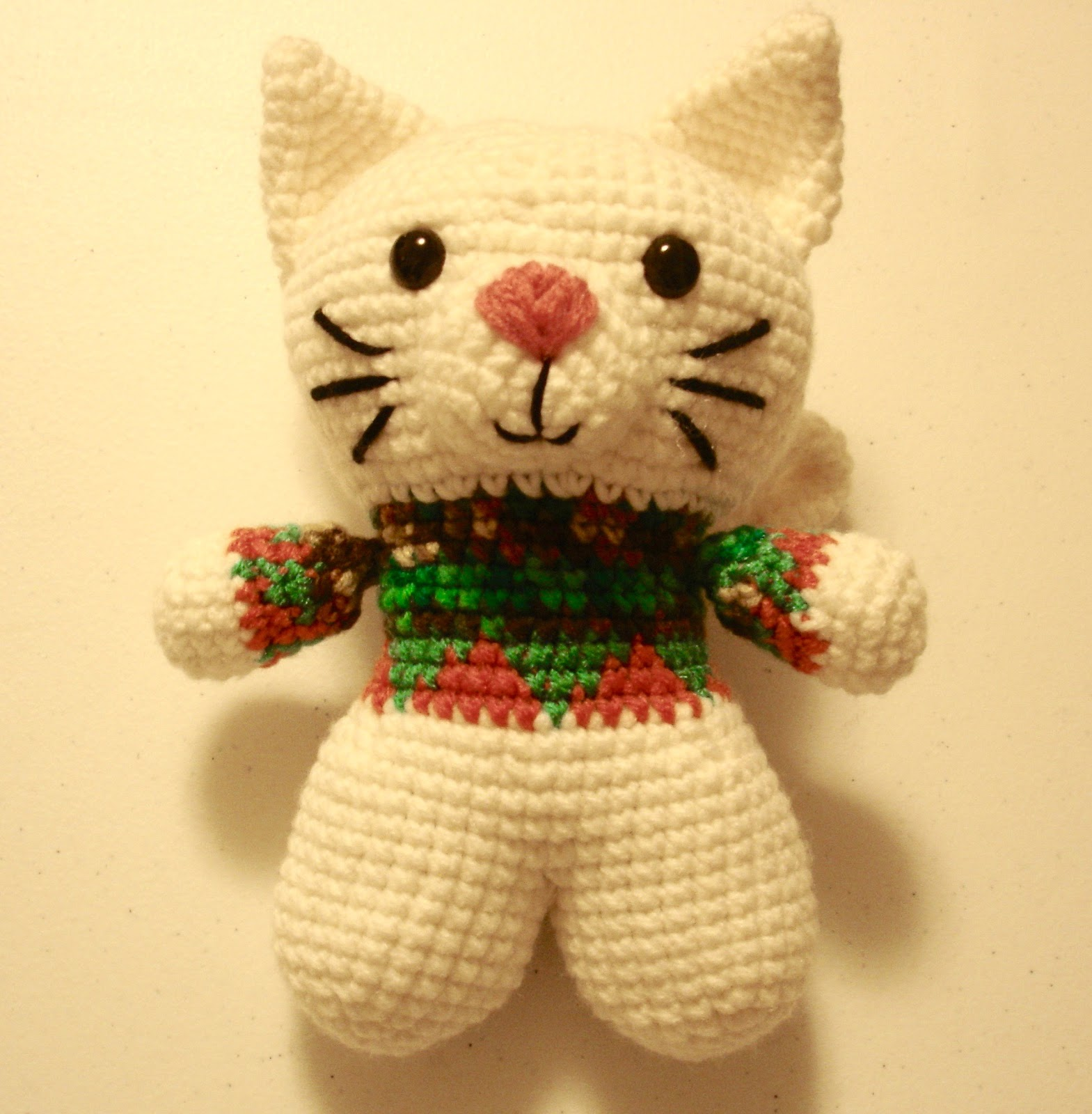 Hello Casper Amigurumi Free Crochet Cat Pattern Crochet Kingdom