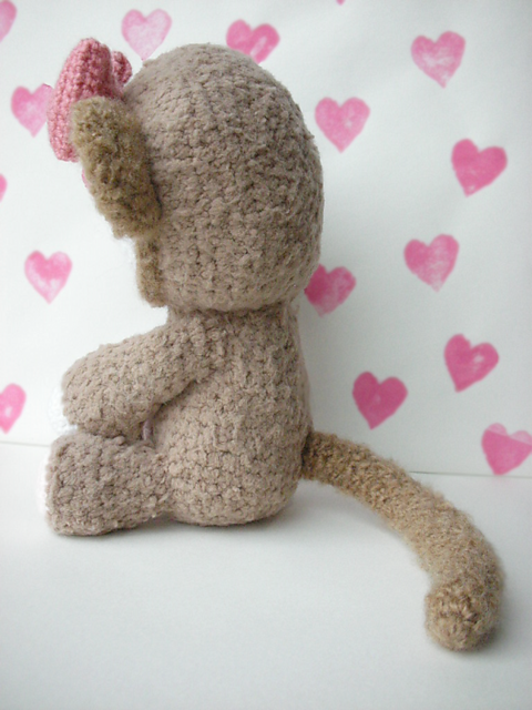 Hello Monkey Free Crochet Softies Amigurumi