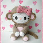 Hello Monkey Free Crochet Softies Amigurumi