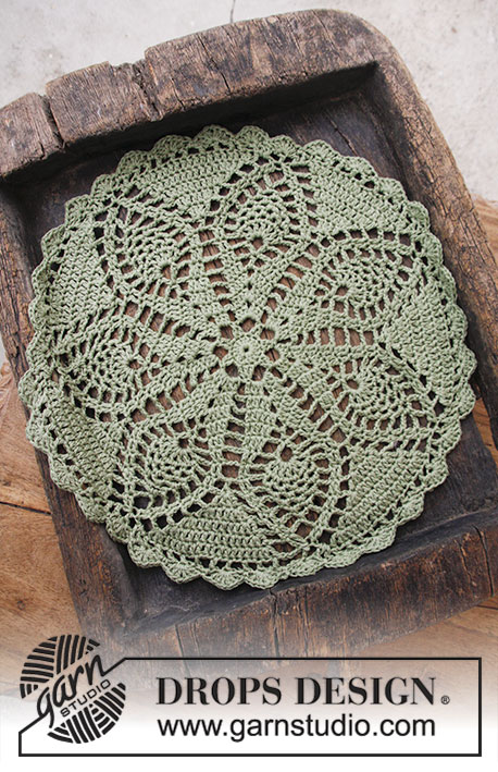 Holiday Servings Free Crochet Christmas Doily Pattern