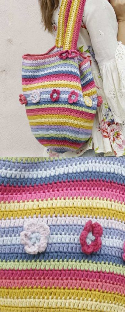 Free Striped Bag Crochet Patterns Archives Crochet Kingdom 22