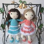 Mailin and Skyla Free Crochet Doll Pattern
