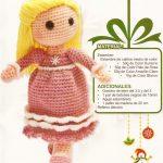 Muñeca al crochet patron