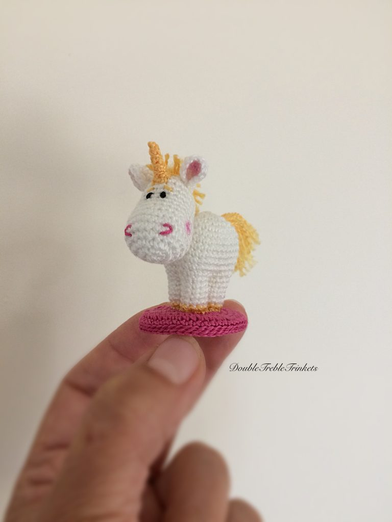 Free Crochet Unicorn Pattern - Red Ted Art - Make crafting with ... | 1024x768