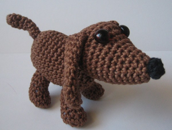 Old Dog Free Amigurumi Crochet Pattern