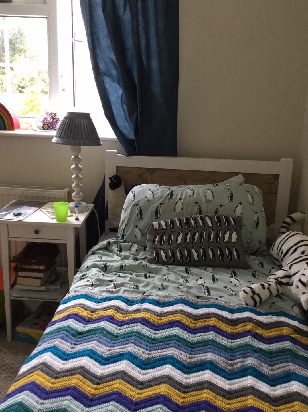 Quick Zig Zag Blanket Free Knitting Pattern ⋆ Crochet Kingdom