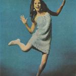 Shimmer Skimmer Retro Mini Dress