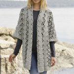 Shining Star Lace Jacket Free Crochet Pattern