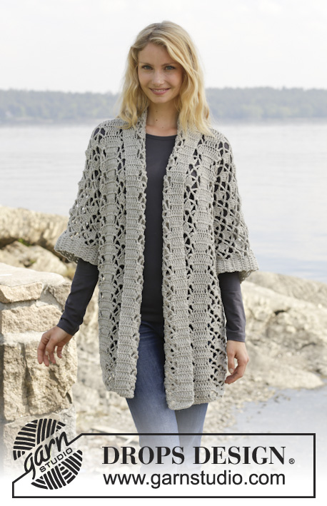 Shining Star Lace Jacket Free Crochet Pattern