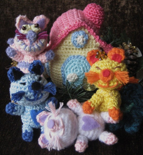 Smart Cats Free Crochet Amigurumi Pattern