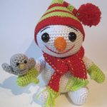 The Little Snowman Free Crochet Pattern