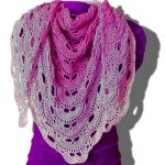 Virus Shawl Free Crochet Pattern. Free crochet shawls download.