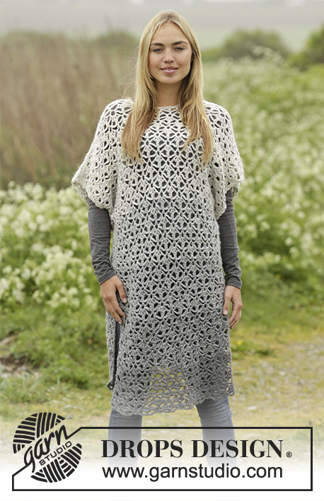 Winter Skies Tunic Dress Free Crochet Pattern