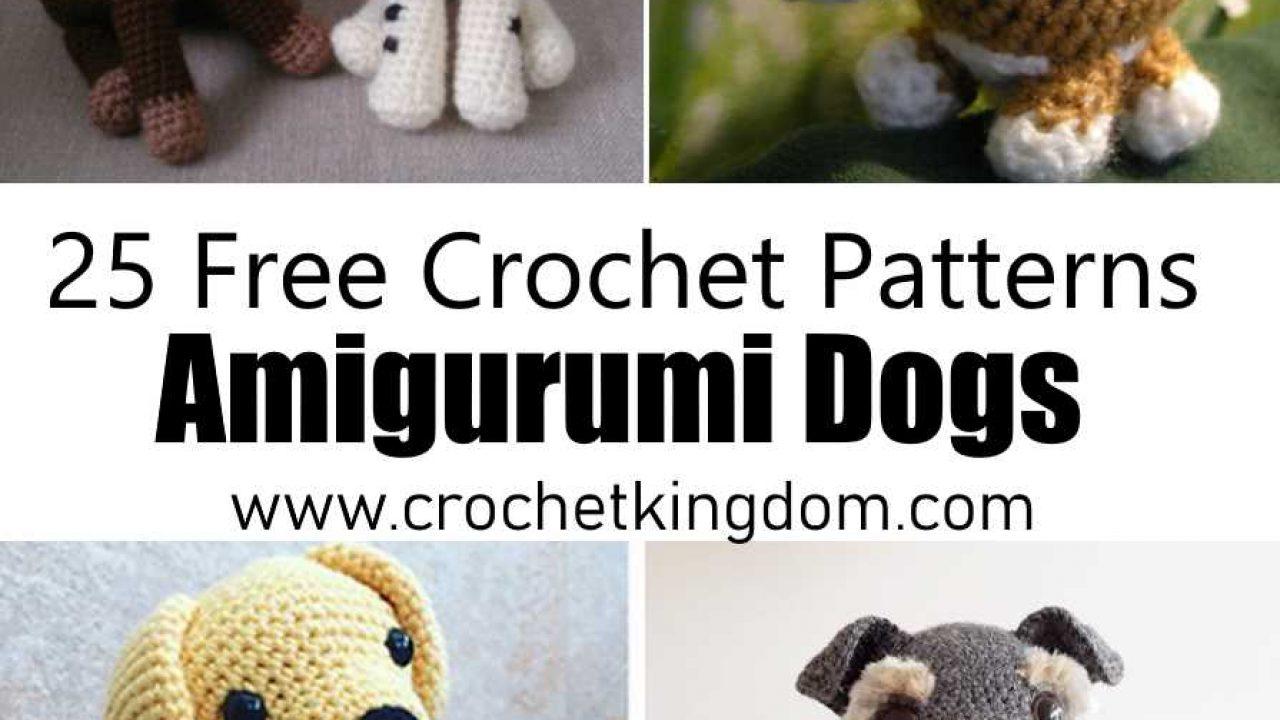 25 Free Amigurumi Dog Crochet Patterns to Download Now!