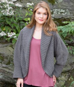 All Around Warm Jacket Free and Easy Crochet Pattern