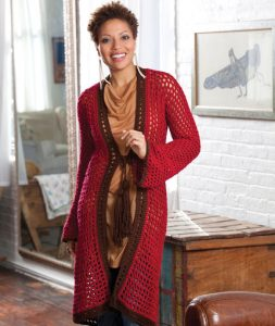 Easy Crochet Cardigan Patterns for Women. Long Crochet Cardigan Pattern that is Free and Easy