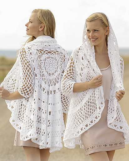 A Flair for Spring Free Circle Crochet Vest Pattern