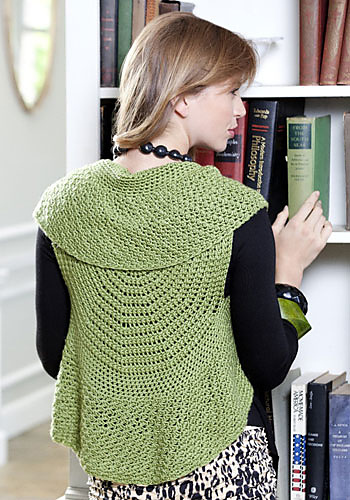 Adelaide Circle Vest Free Crochet Pattern