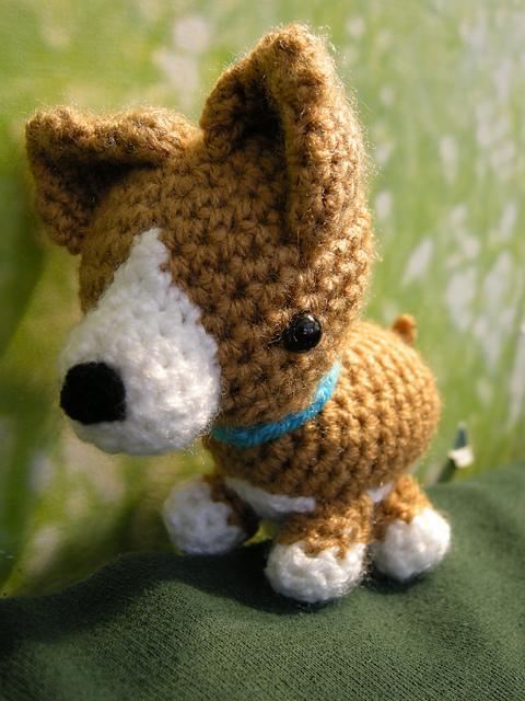 Amigurumi corgi pattern free crochet. Amigurumi dog crochet pattern free.
