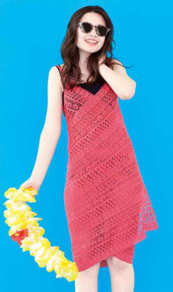 Beach Dress Free Crochet Pattern