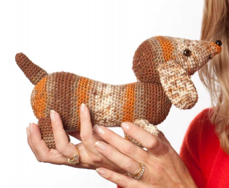 Brown Hound Crochet Pattern