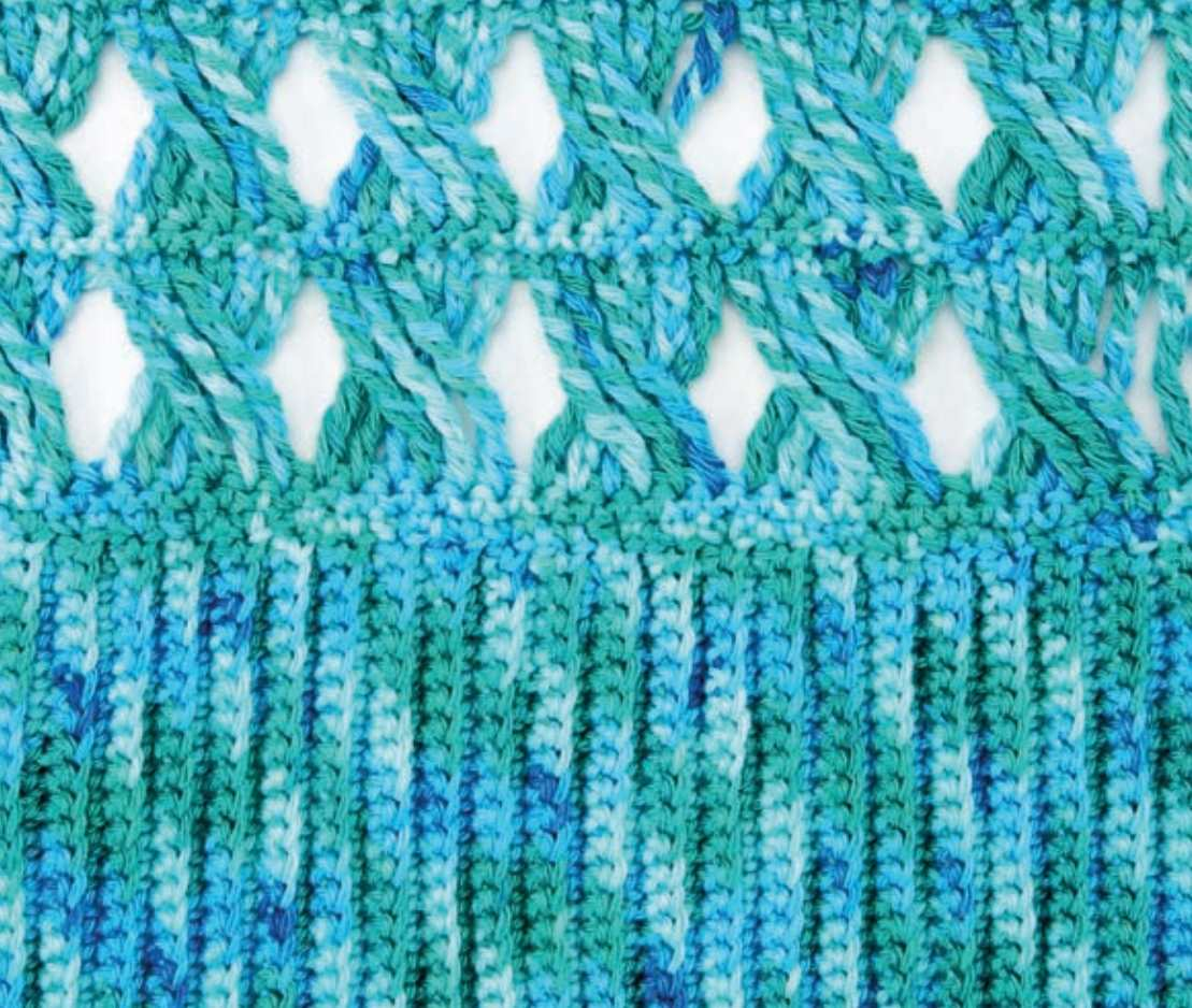 Cable Crochet Stitch Pattern Free