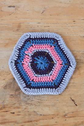 Crochet Along Week 1 Crochet Granny Hexagon Motif