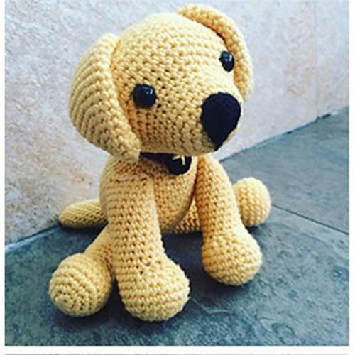 Crochet Labrador Free Amigurumi Pattern