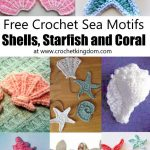 Crochet Sea Motifs - Shells, Starfish and Coral