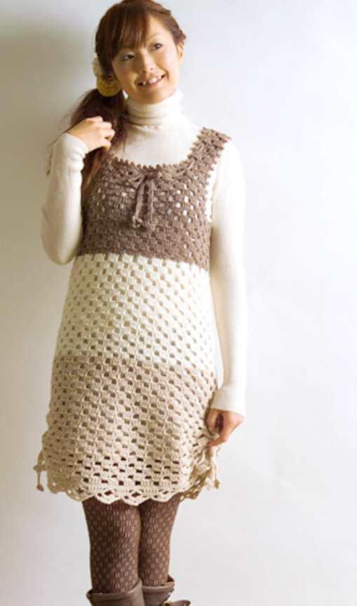 Crochet Tunic Dress Free Pattern
