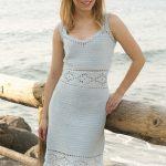 Diamonds in the Sun Free Crochet Slip Dress Pattern