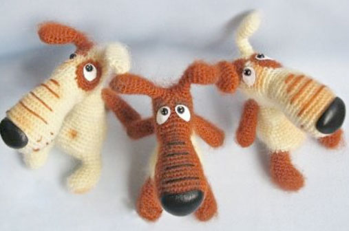 Dog Lucky Free Crochet Pattern