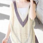 Ethnic Crochet Mesh Dress Free Pattern