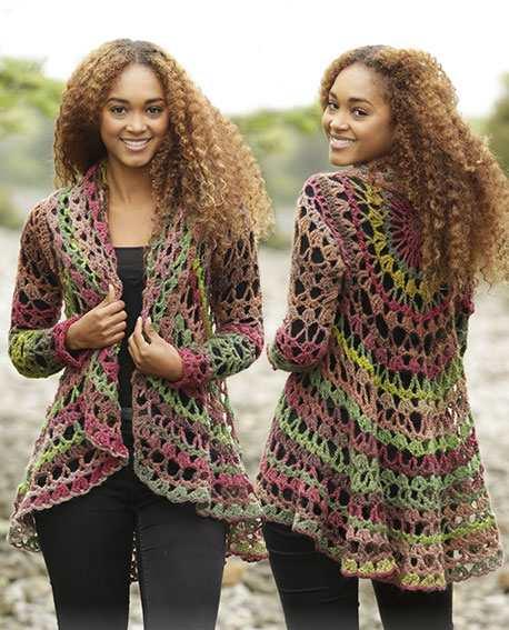 Fall Festival Free Circular Vest Crochet Pattern