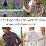 Free Crochet Circle Vest Patterns