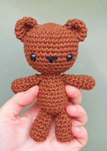 Teddy Bear Security Blanket | AllFreeCrochet.com | 300x213